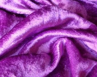 Violet Velvet Fabric Yardage Fabric Curtain Fabric Fashion Velvet Upholstery Fabric Decorative Fabric Window Treatment Fabric By The Yard