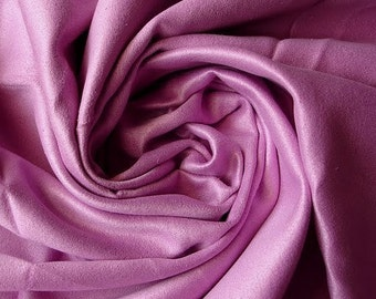 WHOLESALE OFFER 15% OFF - 10 Yards Mauve Suede Fabric