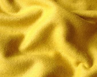 Yellow Felt Fabric - 1 Yard