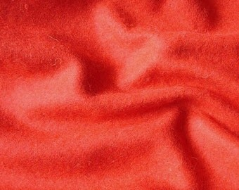 Red Felt Fabric - 1 Yard