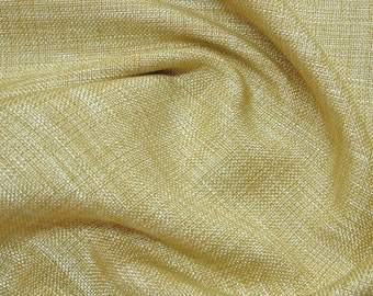 Light Gold Burlap Jute Fabric - 1 Yard