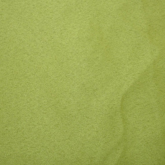 Apple Green Suede Fabric Fake Suede Fabric Imitation Suede