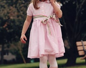 Vintage Shirtdress for Girls - Holiday Colors Available