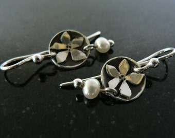 Little Flower Earrings - short hooks