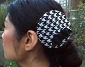 Houndstooth with bow