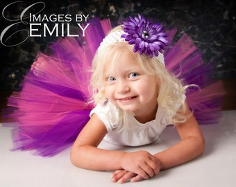 Design Your Own Tutu 12-24 months 2T 3T 4T Red Black Pink White Purple Green Brown Orange Blue
