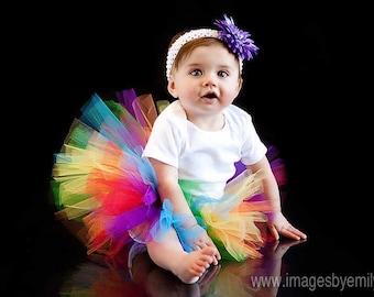 Rainbow Tutu  12-24 months 2T 3T 4T