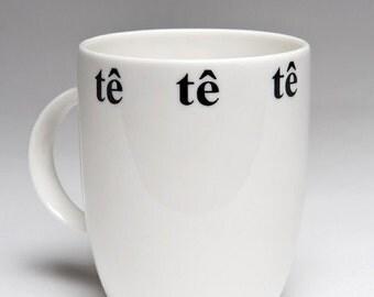 Welsh tea bone china mug