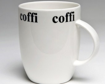 Welsh Coffi/ Coffee mug