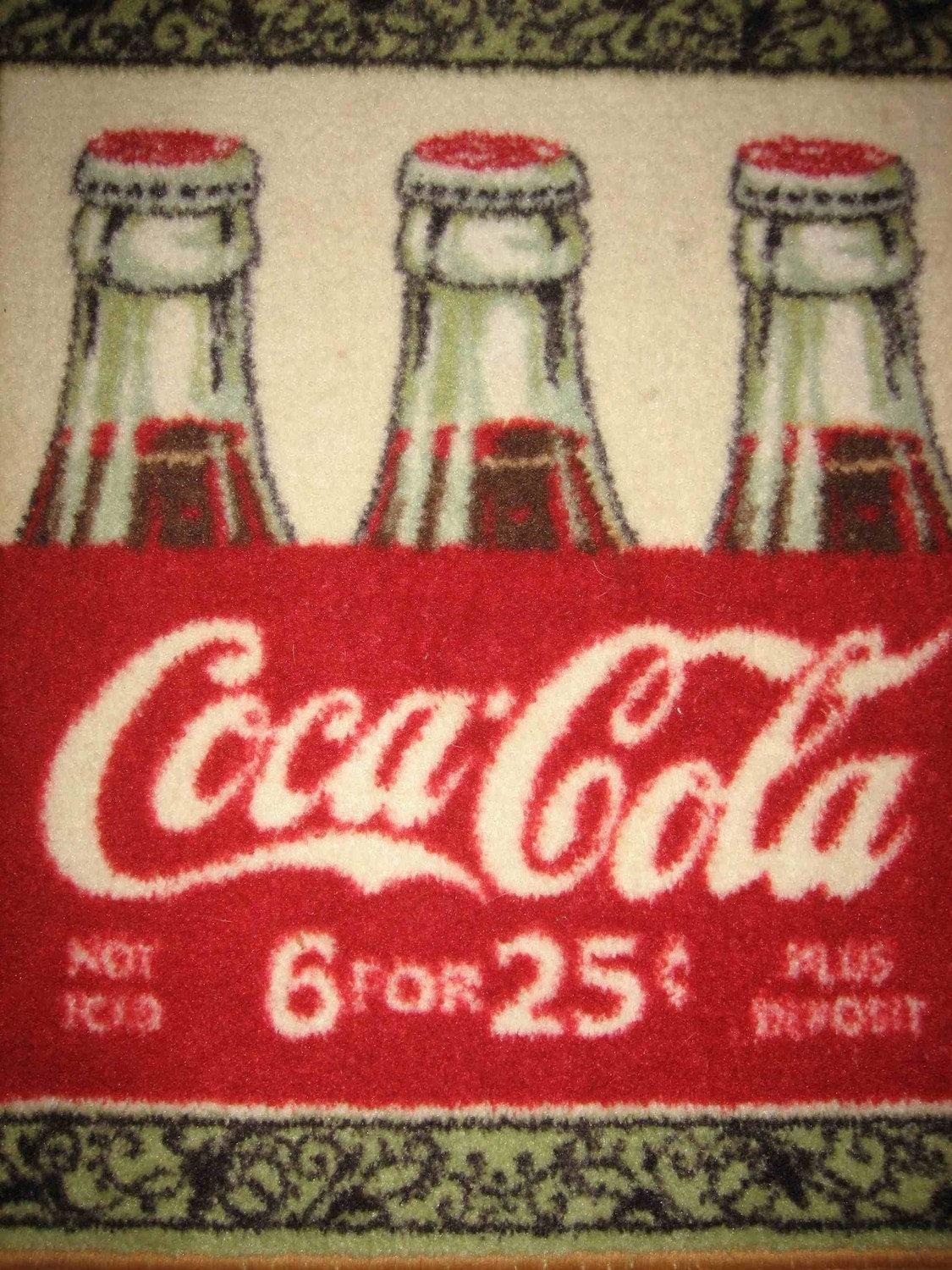 Coca Cola Small Rug Kitchen Mat