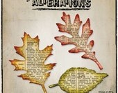 Tim Holtz Alterations Tattered Leaves Die