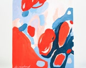 Color Study no. 5 Original Abstract Acrylic Painting