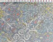 Chiffon Designer Silk Fabric -Liberty - 983L-0402092-G - Blue