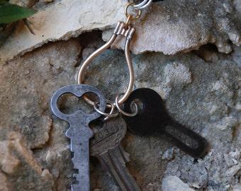 Found Object Vintage Keys Pendant