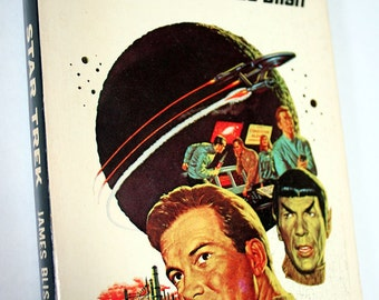1967 Star Trek Paperback Adapted by James Blish