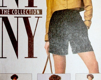 Vintage NY NY Collection Sewing Pattern McCalls 5358 Jacket Dress Shorts Size 6