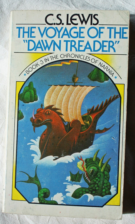 Vintage Voyage of the Dawn Treader C.S. Lewis 1970 Collier Books Paperback