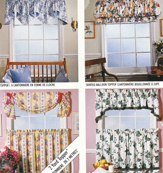 Vintage Curtains Sewing Pattern McCalls 733 By