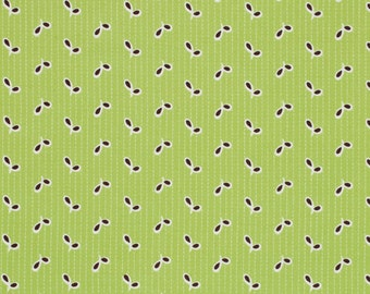 One Yard Denyse Schmidt Fabric - Flea Market Fancy Legacy- Free Spirit - Eyelet in Green