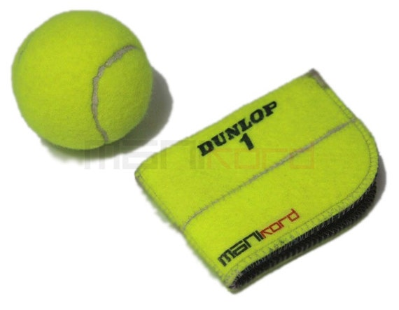 Recycled tennis ball folding wallet by manikordstudio on etsy - Can tennis balls be recycled ...