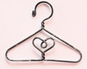 4 Miniature Wire Hangers for Doll & Display