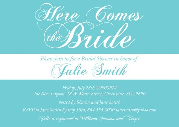 Bridal Shower Invitation Templates Cool Winter Bridal Shower – Bridal Shower Invitation Templates for Word