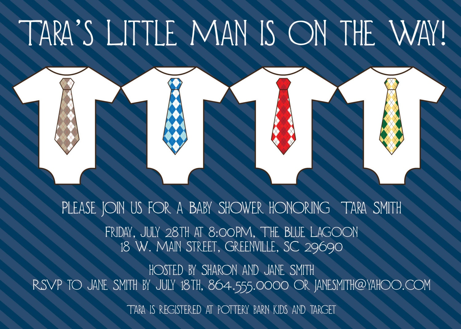 Little Man Invitations Baby Shower as great invitations ideas