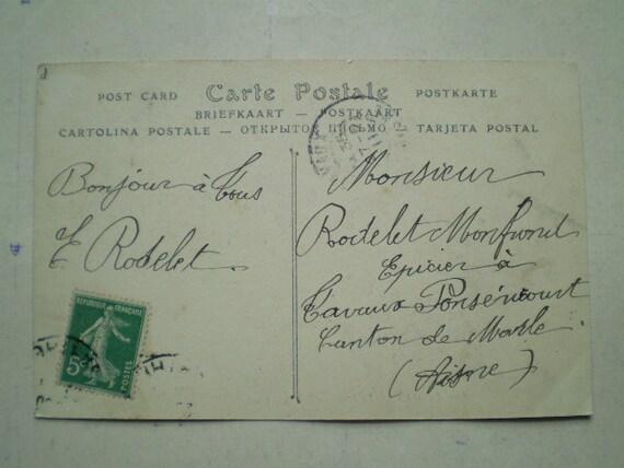 Le Mans - Le Pont en X - 1911 - Antique French Postcard