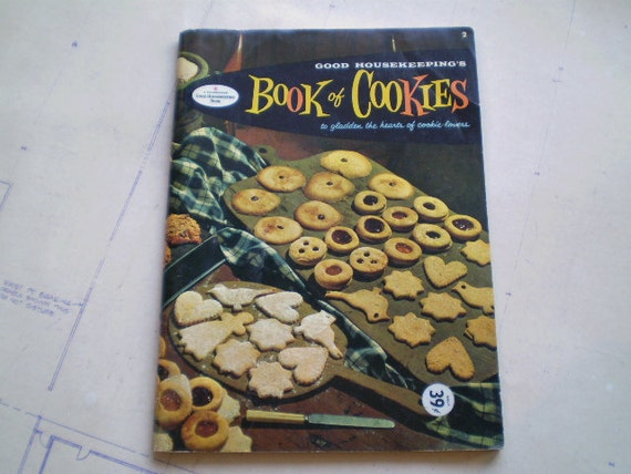 Good Housekeeping's Book of Cookies - 1958 - Sweet Retro Treats - Illustrated