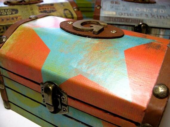 Treasure Box - Custom made - Monogrammed  - Heirloom