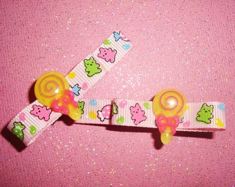 Lollipop Jellybean Gummy Bears Candy Clippies