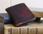 Vintage Leather Cigarette Case / Business Card Case