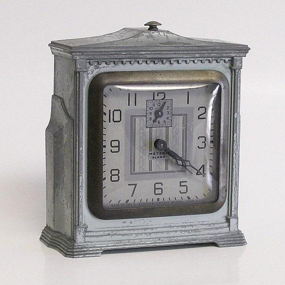 Ingraham Meteor Windup Alarm Clock