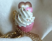Patisserie Cupcake Necklace