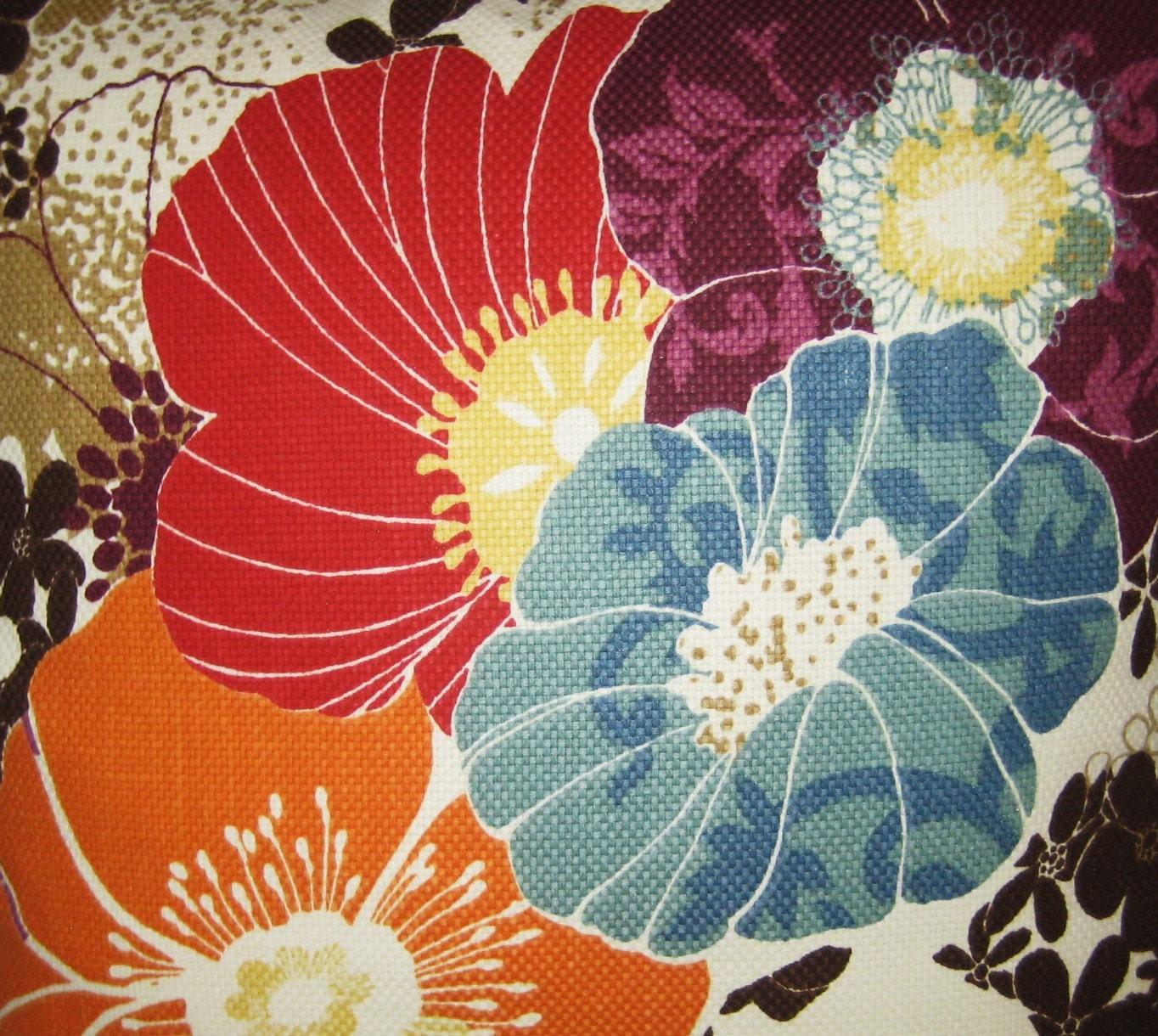 Richloom Amelia Graffiti Floral 18x18 Pillow