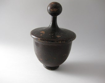 Antique Wood Finial Post Cap
