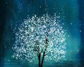 Spirit of Water -- Mool-eh Jung Lyung Su in Korean -- 11x14