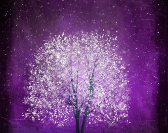 Violet Daze -- 11x14