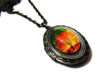 Twilight-- Small Wearable Art Locket.Christmas gift