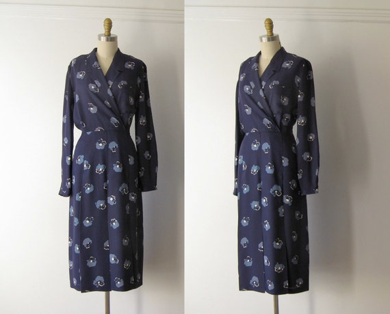 vintage rayon day dress