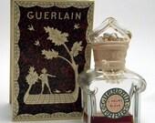 GUERLAIN L'Heure Bleue Paris Bottle and Original Box