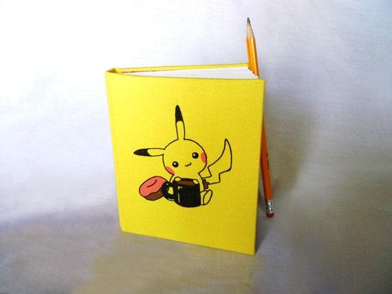 Pikachu Travel Sketchbook