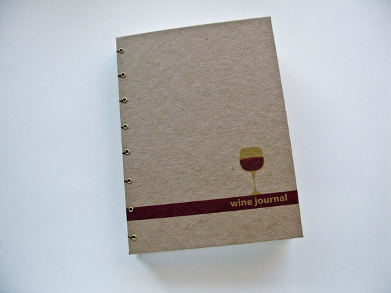 Simple Dual Wine and Cheese Journal