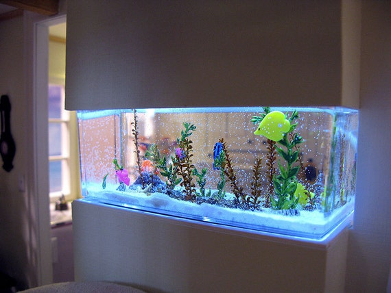 Saltwater Aquarium in 1:12 scale - custom order