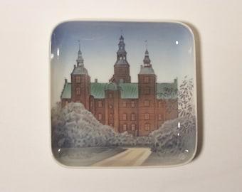 Danish Castle Keepsake Dish Bing and Grondahl of Denmark
