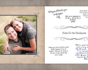Photo Wedding Guestbook / Wedding Guest Book / Wedding guestbook / Photobook / Book / Guestbook ideas / Guest book alternative - Happiness