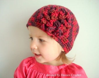 Pattern pdf Versatile beanie hat for boys, girls and adults. 8 sizes.(012)