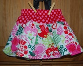Michael Miller Christmas Joy and Peace Twirl Skirt. Size 2T ready to ship!