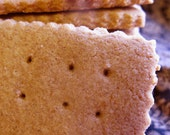 Handmade Honey Grahams  1/2 dozen