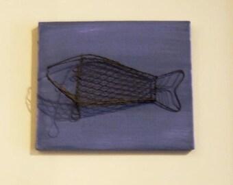 Fish Bone Painting